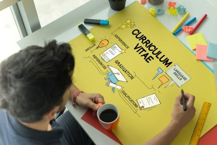 diseño del currículum vitae