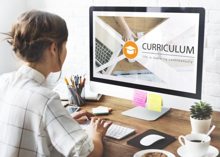 comenzar curriculum vitae